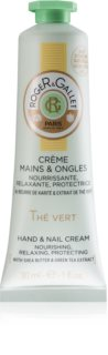 Roger & Gallet Thé Vert Protective Nourishing Cream for Hands and Nails for Women