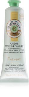 Roger & Gallet Thé Vert crema protettiva nutriente per mani e unghie da donna