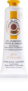 Roger & Gallet Bois d'Orange čisticí gel na ruce na nehty pro ženy