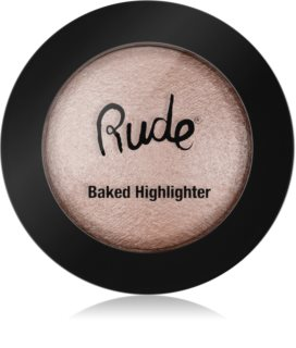 Rude Cosmetics Baked Highlighter illuminante compatto in polvere