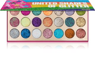 Rude Cosmetics United Shades Of Glitter umbre de pleoape cu sclipici