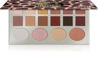 Rude Cosmetics Leopardina Lidschatten-Palette und Highlightern