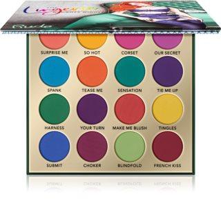 Rude Cosmetics The Lingerie Collection 16 Shades paleta očních stínů
