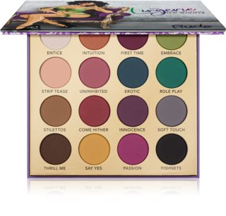 Rude Cosmetics The Lingerie Collection Wild Nights palette de fards à paupières