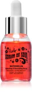Rude Cosmetics Serum of Love Watermelon nährendes und feuchtigkeitsspendendes Serum