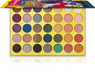 Rude Cosmetics The Badass Rudegirl Lidschatten-Palette