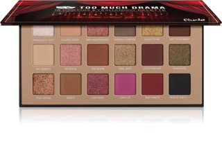 Rude Cosmetics Too Much Drama Lidschatten-Palette