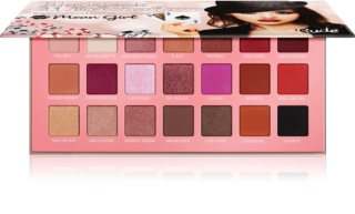 Rude Cosmetics Blackjack Mean Girl paleta sjenila za oči
