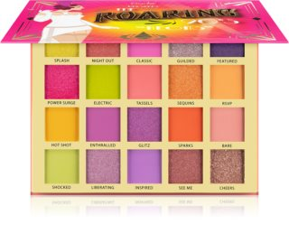 Rude Cosmetics The Roaring 20's Neon paleta cieni do powiek