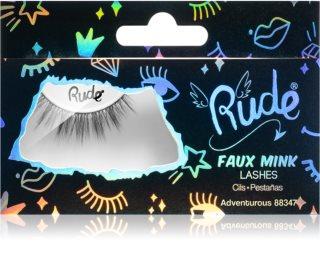 Rude Cosmetics Essential Faux Mink 3D Lashes ψεύτικες βλεφαρίδες