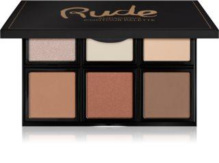 Rude Cosmetics Face Palette Audacious Παλέτα για το πρόσωπο