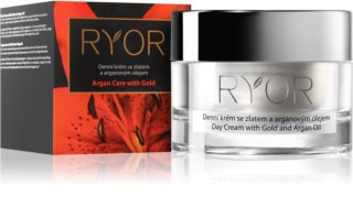 RYOR Argan Care with Gold dnevna krema z zlatom in arganovim oljem