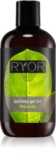 RYOR Men gel de douche 3 en 1