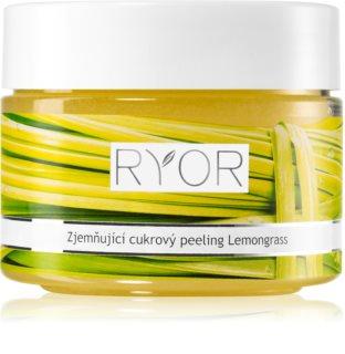 RYOR Lemongrass zjemňující cukrový peeling na tělo