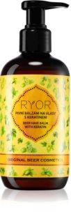 RYOR Original Beer Cosmetics pivski balzam za kosu s keratinom