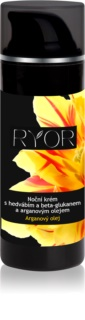RYOR Argan Oil Night Cream with Silk and Beta Glucan