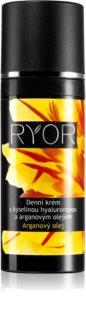 RYOR Argan Oil crema de zi cu acid hialuronic