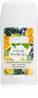 RYOR Grapefruit & Black Currant déodorant effet 48h