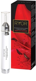 RYOR Argan Care with Gold revitalizacijski serum za obraz z zlatom in arganovim oljem