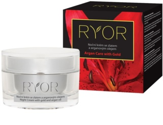 RYOR Argan Care with Gold Night Cream With Gold And Argan Oil