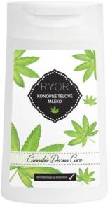 RYOR Cannabis Derma Care Hennep Bodylotion voor Zeer Gevoelige Huid met Neiging tot Irritatie en Roodheid