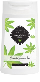 RYOR Cannabis Derma Care Hemp Body Lotion for Very Senstitive Skin Prone to Irritation and Inflammation