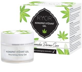 RYOR Cannabis Derma Care gel nutritivo de cáñamo para rostro y cuerpo