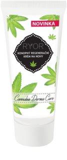 RYOR Cannabis Derma Care crema rigenerante alla cannabis per i piedi