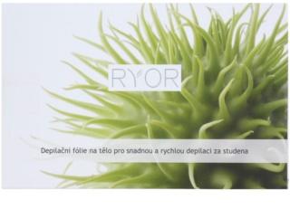 RYOR Depilation and Shaving Depilationsfolie zur schnellen und einfachen Kalt-Depilation des Körpers