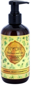 RYOR Original Beer Cosmetics βάλσαμο μαλλιών μπύρας με κερατίνη