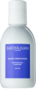 Sachajuan Cleanse and Care Silver balsamo idratante antigiallo