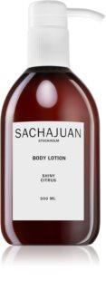 Sachajuan Shiny Citrus hydratační tělové mléko