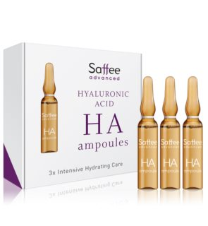 Saffee Advanced Hyaluronic Acid Ampoules  Pack de démarrage 3 jours avec acide hyaluronique