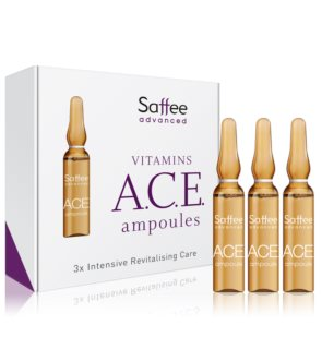 Saffee Advanced Vitamins A.C.E. Ampoules ampoules – Pack de démarrage 3 jours avec vitamines ACE