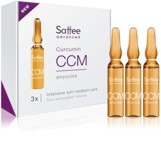 Saffee Advanced ampoules – Traitement intensif de 7 jours au curcuma