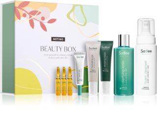 Saffee Acne Skin Kosmetik-Set für gereinigte und beruhigte Gesichtshaut II.