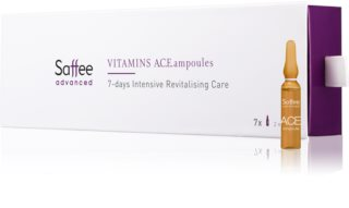 Saffee Advanced Vitamins A.C.E. Ampoules ampoules – Traitement intensif de 7 jours aux vitamines ACE