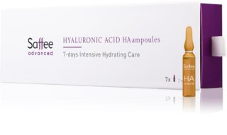 Saffee Advanced Hyaluronic Acid Ampoules  7-day intensive treatment with hyaluronic acid