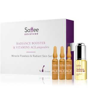 Saffee Advanced Flawless & Radiant Skin Set lote cosmético IV. para mujer