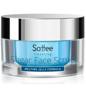 Saffee Cleansing Melting Jelly Scrub exfoliante facial de açúcar