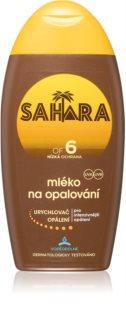 Sahara Sun schützende Sonnenlotion für schnellere Bräune SPF 6