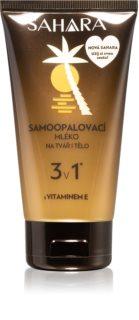 Sahara Sun молочко для автозасмаги для обличчя, рук та тіла