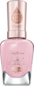 Sally Hansen Color Therapy Sheer verniz para cuidado de unhas