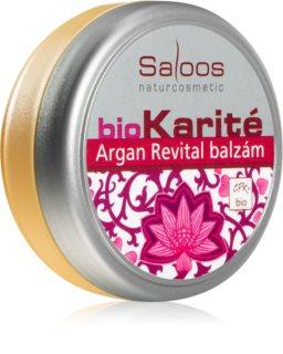 Saloos Bio Karité baume Argan Revital