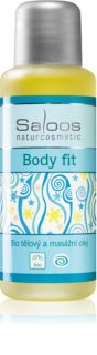 Saloos Bio Body and Massage Oils Body Fit Body Care and Massage Oil