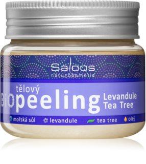 Saloos Bio Peeling gommage corps lavande et arbre à thé