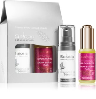Saloos Růže & Hyaluronové sérum Gift Set for Women
