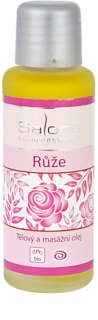 Saloos Bio Body and Massage Oils aceite corporal  para masajes Rosa