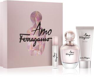 Salvatore Ferragamo Amo Ferragamo coffret cadeau IV. pour femme