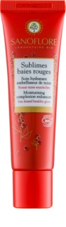 Sanoflore Sublimes baies rouges crema hidratante con color